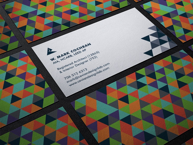 Main business card mockup vol1