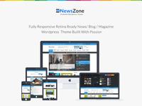 NewsZone | Responsive WordPress News,Magazine,Blog