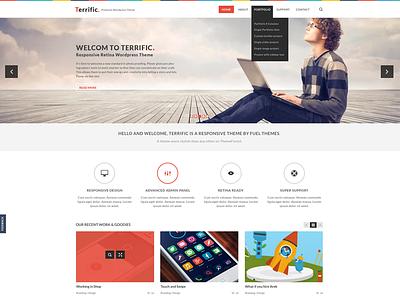 Terrific white ui design ux web design design ui wordpress