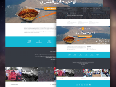 Ahmed Adel - Single Portfolio Item marketer ui personal mockup white ux portfolio case study slider design