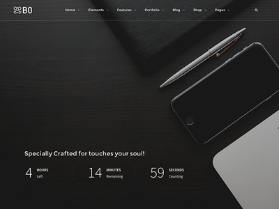 BO l Coming Soon Layouts coming soon portfolio ui sale web design design themes wordpress