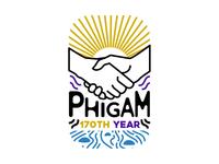 Phi Gamma Delta Fraternity sticker design