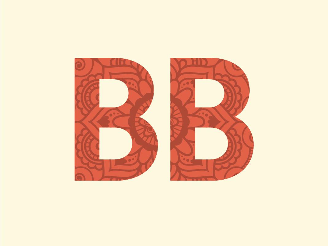 Budget Buddha Secondary Mark illustration typography vector art logo design design branding logo