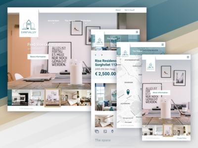 Expatvalley maps web  mobile design web  design rent room
