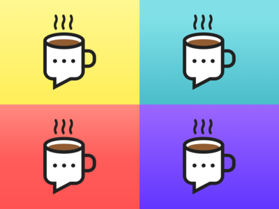 Designers & Coffee Community Logo