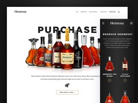 Hennessy Purchase Page
