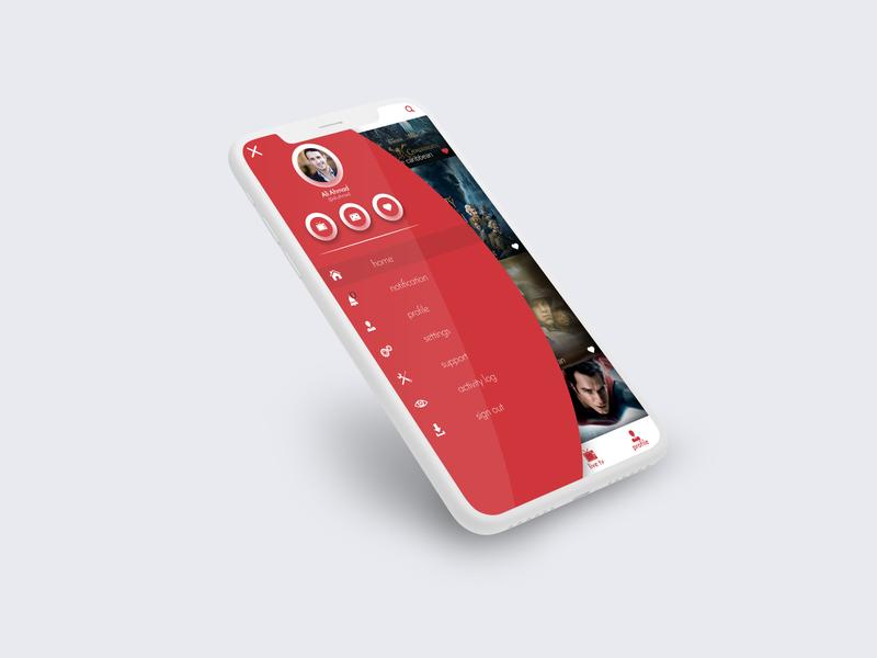 Menu Screen menu design menu bar sketch art pakistan creative  design graphic  design creative ux design ui design design app screen designer design user experience user interface uiux design ux ui app