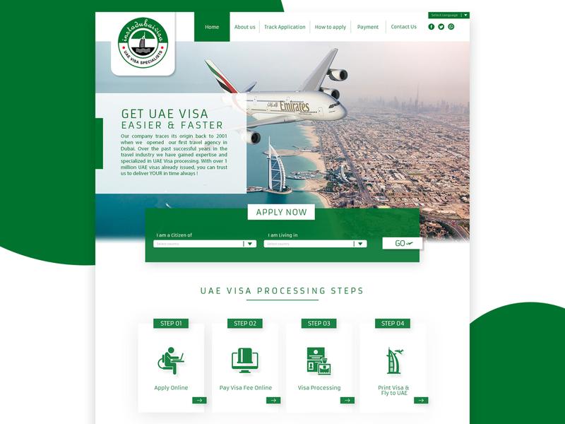 Web Design company visa branding agency pakistan creative creative  design ui graphic  design photoshop webtemplate website ui design ui  ux website design web design template web