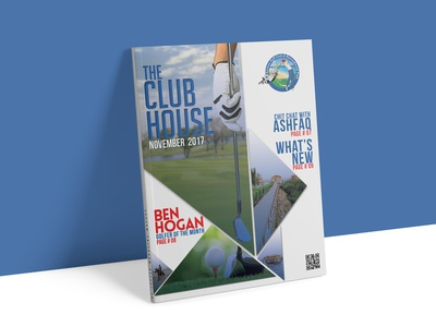 Newsletter Cover - Airmen Golf Club