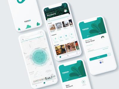 Tongo - Buy & Sell Locally ecommerce app greens mockup user experience user interface illustration creative  design design brand pakistan ui  ux green colors app design app creative ux design ui design ux ui