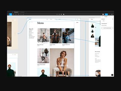 Figma live prototype process design class figma