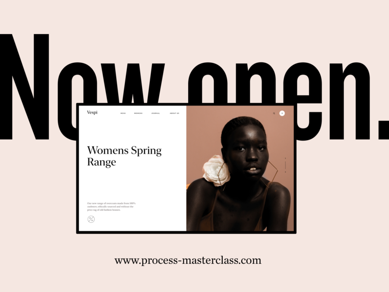 Class now open prototypes typography grids figma design thinking class design course