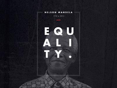 Mandela - Farewell legacy nelson mandela tribute design poster black white red type