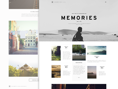 Blog Layout by Nguyen Le - Dribbble