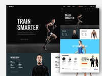 2XU - Homepage concept