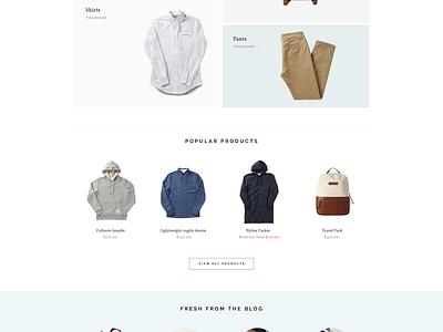 Shop shop ecommerce theme pixelunion store clean minimal
