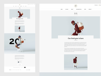 Shop Blog clean ecommerce minimal pixelunion shop store theme railway vollkorn