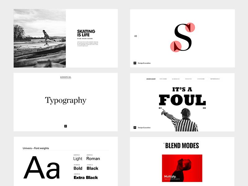 Process Masterclass entrepreneur business simple minimal typography class design process
