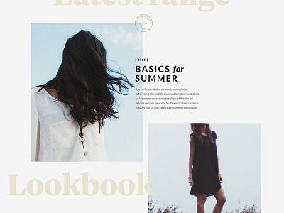 Lookbook editorial fashion lookbook lato tiempos