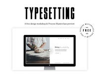 Free typesetting lesson