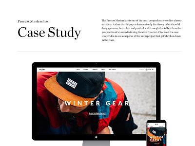 Process Masterclass – Vespi case study