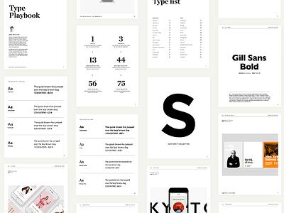 Type Playbook ebook typography