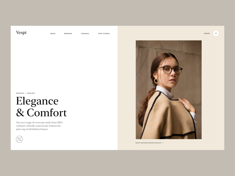 Process Masterclass - Project case study responsive website typography grids design thinking