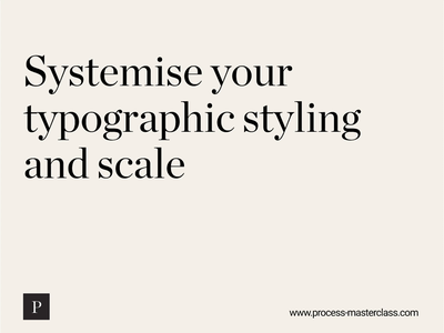 Design Tip design system figma text styles typography