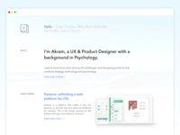 New Web Portfolio