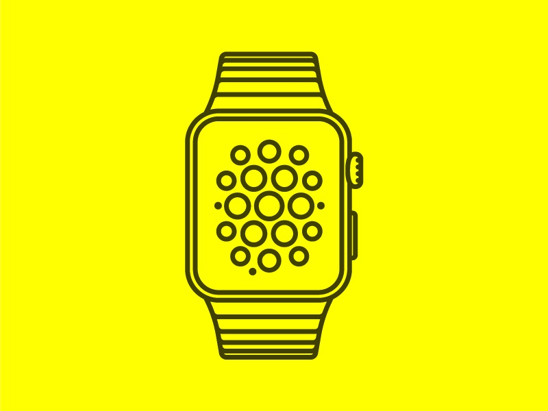 Freebie - Apple Watch vector vector free freebie download apple watch illustrator assets asset attachment