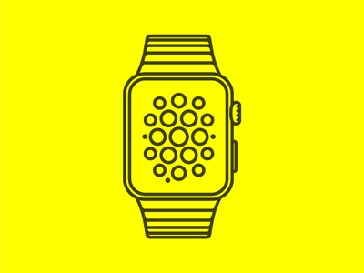 Freebie - Apple Watch vector
