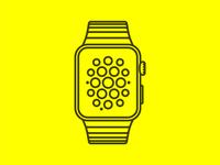 Freebie - Apple Watch vector