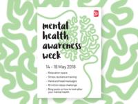 Mental health awareness week poster