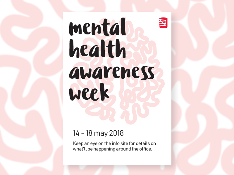 Another MHA week poster mental health awareness poster mha mental health