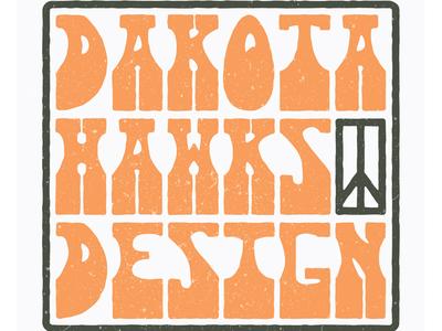 Dakota Hawks Design badge