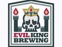 Evil King Brewing Badge