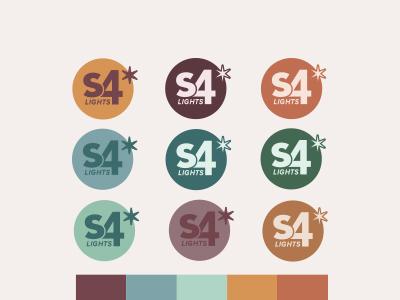 S4 Lights Logo w/ Color Palette