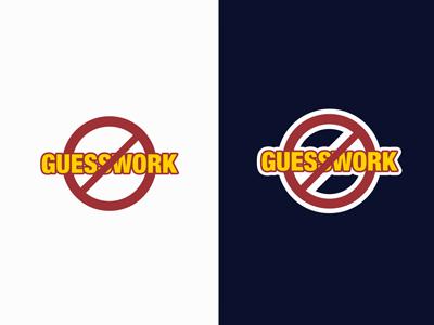No Guesswork Badge