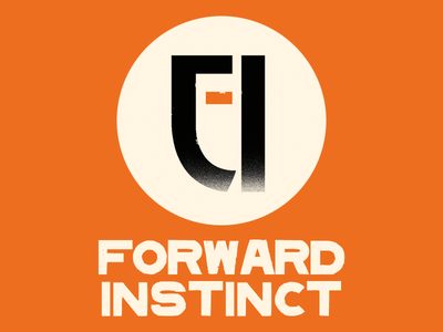 Forward Instinct Logo game company indie game company indie gaming instinct forward korea forward instinct branding logo