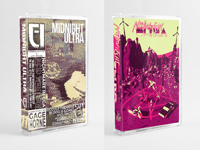 Midnight Ultra Soundtrack - Cassette JCards