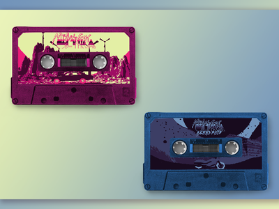 Midnight Ultra Soundtrack - Cassette Labels