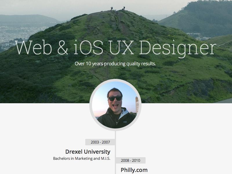 Updating Personal Webpage portfolio work homepage