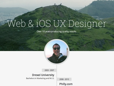 Updating Personal Webpage
