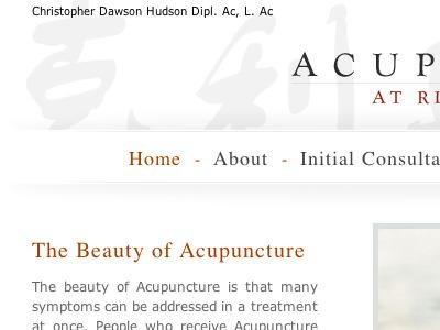 Rittenhouse Acupunture Full site design acupuncture philadelphia health care