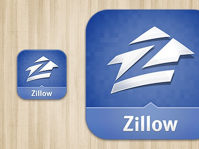 Zillow iOS Icon icon mobile zillow ios