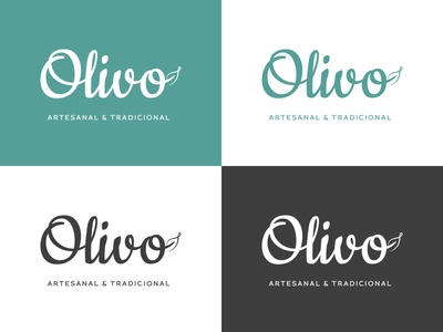 Olivo logo & Color Pallete
