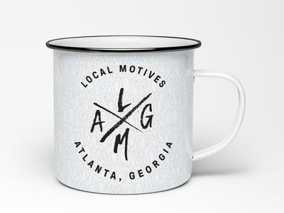 Local Motives Enamel Mug