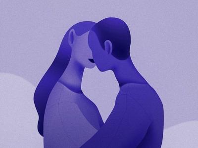 Prusian Blue vector art design illustration