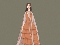 Illustration made for MB Fashion week MX