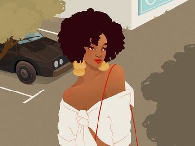 Petit Piment fashion photoshop illustration design